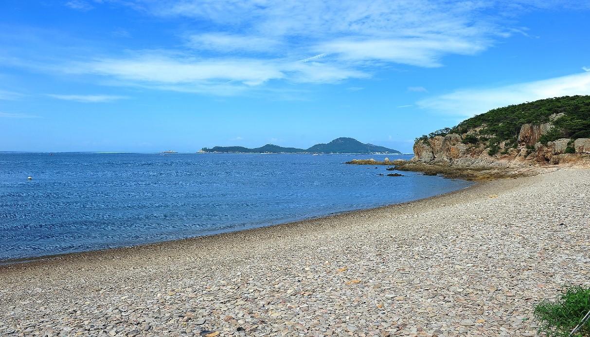 군산몽돌해변 이미지입니다.